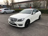 2012 MERCEDES-BENZ C CLASS 1.8 C180 BLUEEFFICIENCY AMG SPORT EDITION 125 2d AUTO 156 BHP £12475.00