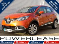 USED 2015 64 RENAULT CAPTUR 1.5 EXPRESSION PLUS ENERGY DCI S/S 5d 90 BHP BLUETOOTH CRUISE CONTROL FREE TAX