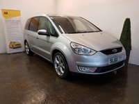 USED 2010 60 FORD GALAXY 2.0 GHIA TDCI 5d 143 BHP FULL SERVICE HISTORY 9 STAMPS IN THE SERVICE BOOK