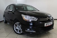 USED 2013 13 CITROEN C4 1.6 HDI SELECTION 5DR 115 BHP FULL CITROEN SERVICE HISTORY + BLUETOOTH + PARKING SENSOR + PANORAMIC ROOF + AIR CONDITIONING + 17 INCH ALLOY WHEELS