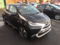 USED 2015 64 TOYOTA AYGO 1.0 VVT-I X-CLUSIV X-SHIFT 5d AUTO 69 BHP AUTOMATIC WITH ALLOY WHEELS, CLIMATE CONTROL, AUXILLIARY/MEDIA AND TOYOTA WARRANTY. EXCELLENT FUEL ECONOMY..LOW CO2 EMISSIONS..£0 ROAD TAX...FULL HISTORY...ONLY 7599 MILES ONLY!!