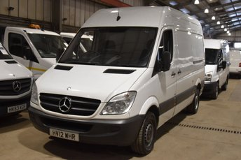 2012 MERCEDES-BENZ SPRINTER 2.1 313 CDI MWB 5d 129 BHP H/ROOF RWD DIESEL MANUAL VAN £5490.00