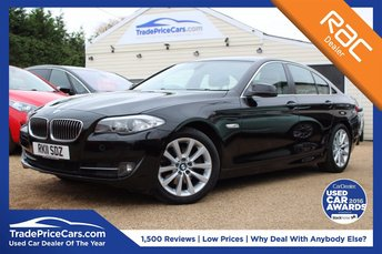 2011 BMW 5 SERIES 2.0 520D SE 4d 181 BHP £10750.00