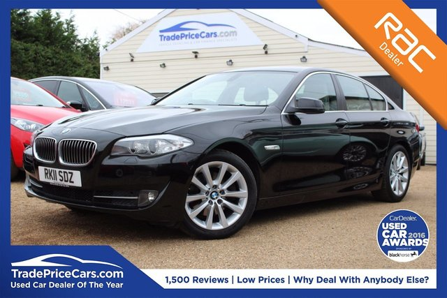 View our 2011 11 BMW 5 SERIES 2.0 520D SE 4d 181 BHP
