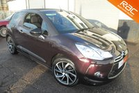 USED 2015 15 CITROEN DS3 1.6 DSTYLE PLUS 2d AUTO 120 BHP GREAT VALUE AND SPECIFICATION AUTOMATIC