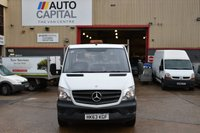 USED 2013 63 MERCEDES-BENZ SPRINTER 2.1 313 CDI MWB 2d 129 BHP LR DROPSIDE LORRY ONE OWNER