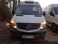 USED 2013 63 MERCEDES-BENZ SPRINTER 2.1 313 CDI MWB 1d 129 BHP PRICE IS NEGOTIABLE FINANCE AVAILABLE