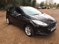 USED 2015 65 FORD FIESTA 1.2 ZETEC 5d 81 BHP Ford Service History, Bluetooth  Alloy wheels