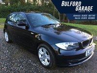 2008 BMW 1 SERIES 2.0 118D SE 3d 141 BHP £5475.00