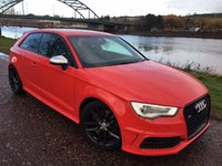 USED 2014 63 AUDI A3 2.0 S3 QUATTRO 3d 296 BHP PACE CAR LIGHTS