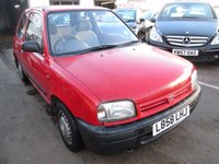 1993 NISSAN MICRA 1.0 L SHAPE 3d 55 BHP £495.00