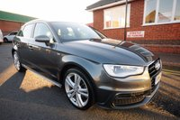 USED 2013 63 AUDI A3 1.6 TDI S LINE 5d 104 BHP FULL AUDI HISTORY + 1 OWNER + XENONS