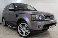 USED 2011 11 LAND ROVER RANGE ROVER SPORT 3.0 TDV6 HSE 5DR AUTOMATIC 245 BHP LAND ROVER SERVICE HISTORY + 0% FINANCE AVAILABLE T&C'S APPLY + HEATED LEATHER SEATS - FRONT/REAR + SAT NAVIGATION + DVB-T DIGITAL TV TUNER + REVERSE CAMERA + BLUETOOTH + PARKING SENSOR + CRUISE CONTROL + CLIMATE CONTROL + 20 INCH ALLOY WHEELS