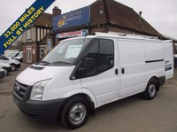 2010 FORD TRANSIT 300s SWB DIRECT FROM BT FLEET WITH FULL HISTORY £6245.00