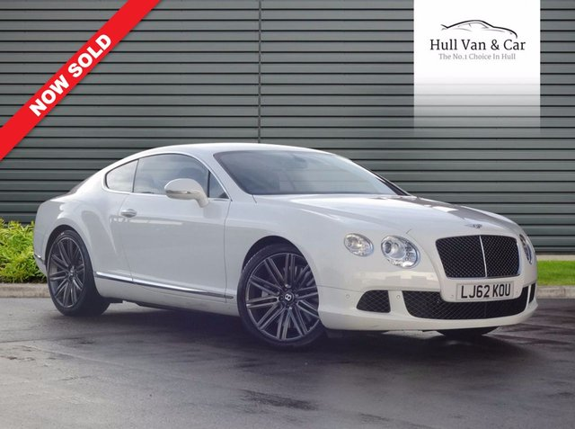 2013 62 BENTLEY CONTINENTAL 6.0 GT SPEED 2d AUTO 616 BHP