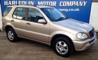 USED 2002 52 MERCEDES-BENZ M CLASS 2.7 ML270 CDI 5d AUTO 163 BHP