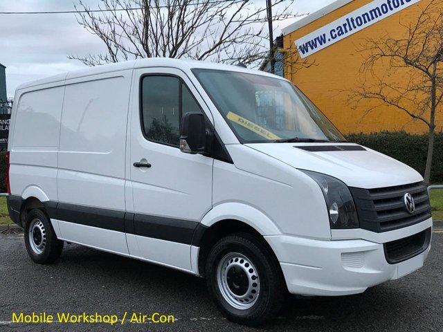 2012 12 VOLKSWAGEN CRAFTER 2.0TDi 109 CR30 SWB [ Mobile Workshop ] Van Low Mileage FSH Ex Lease Free uk Delivery