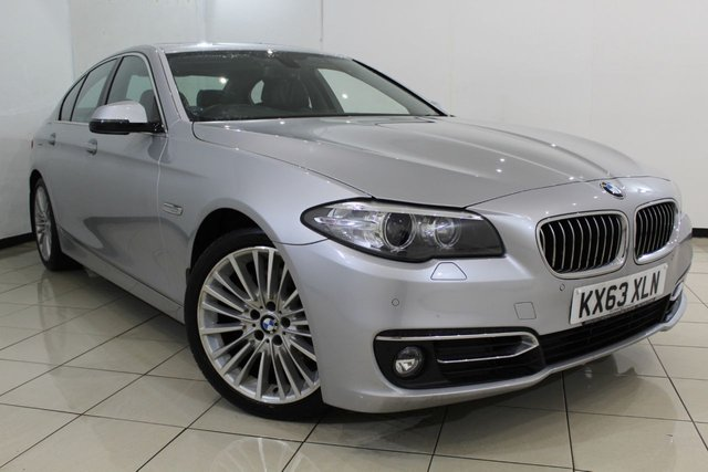 View our 2013 63 BMW 5 SERIES 3.0 530D LUXURY 4DR AUTOMATIC 255 BHP