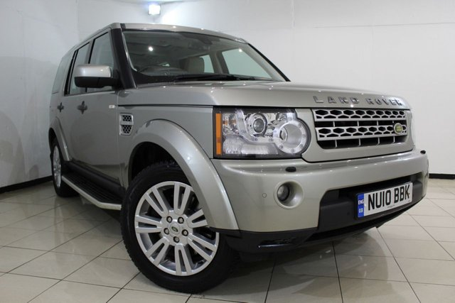 View our 2010 10 LAND ROVER DISCOVERY 4 3.0 4 TDV6 HSE 5DR AUTOMATIC 245 BHP