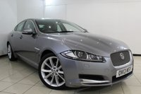 USED 2013 13 JAGUAR XF 3.0 D V6 PREMIUM LUXURY 4DR AUTOMATIC 240 BHP FULL JAGUAR SERVICE HISTORY + SAT NAVIGATION + PARKING SENSOR + BLUETOOTH + CRUISE CONTROL + MULTI FUNCTION WHEEL + 19 INCH ALLOY WHEELS
