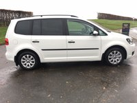 USED 2013 VOLKSWAGEN TOURAN 1.6 S TDI 5d 106 BHP EXCELLENT DRIVER, VERY ECONOMICAL 7 SEATER