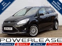 USED 2014 14 FORD GRAND C-MAX 1.6 GRAND TITANIUM TDCI 5d 114 BHP DAB CRUISE CONTROL 7 SEATS