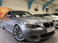 USED 2006 56 BMW 5 SERIES 3.0 530I M SPORT 4d AUTO 255 BHP