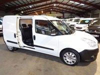 2011 FIAT DOBLO 1.6 16V MAX LWB  MULTIJET  CARGO COMBI CREW CAB 6d 105 BHP-ONE OWNER  £4995.00