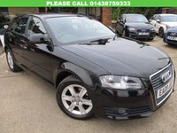 USED 2009 09 AUDI A3 1.6 MPI SE 5d 101 BHP FULL SERVICE HISTORY 8 SERVICE STAMPS, HPI CLEAR, ALLOYS, AIR CON, SPARE KEY