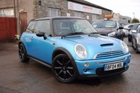 2004 MINI HATCH COOPER 1.6 COOPER S 3d 161 BHP £2775.00