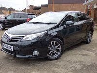 2015 TOYOTA AVENSIS 2.2 D-CAT ICON 5d AUTO 150 BHP £SOLD