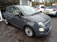 USED 2016 65 FIAT 500 1.2 LOUNGE DUALOGIC 3d AUTOMATIC 69 BHP *NEW SHAPE* One Owner from new, Just Serviced by ourselves, MOT until January 2019, Automatic, Excellent on fuel economy! Only £20 Road Tax! Fiat Warranty until January 2019