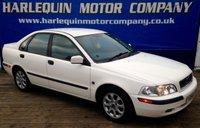 2001 VOLVO S40 1.6 I 4d 109 BHP £999.00