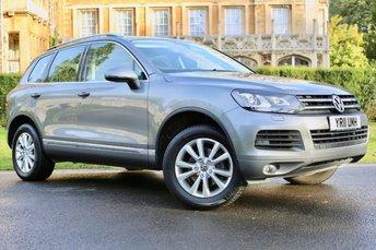 2011 VOLKSWAGEN TOUAREG 3.0 V6 SE TDI BLUEMOTION TECHNOLOGY 5d AUTO 237 BHP £14490.00