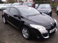 USED 2011 61 RENAULT MEGANE 1.6 DYNAMIQUE TOMTOM VVT 3d 110 BHP ****Great Value economical reliable family car with excellent service history, Great spec, Drives superbly****
