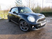 USED 2011 11 MINI CONVERTIBLE 1.6 COOPER S 2d 184 BHP GREAT LOOKING MINI F/S/H