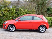 USED 2014 14 VAUXHALL CORSA 1.2 EXCITE AC 3d 83 BHP FULL SERVICE HISTORY, LONG MOT, FINANCE AVAILABLE