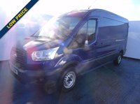 2015 FORD TRANSIT 2.2 350 SHR P/V 1d 99 BHP dark blue  £9495.00
