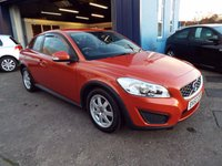 USED 2010 60 VOLVO C30 1.6 D DRIVE S 3d 109 BHP FULL SERVICE HISTORY