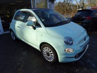 USED 2016 16 FIAT 500 1.2 LOUNGE 3d 69 BHP *NEW SHAPE* One Lady Owner, Full Service History (Just Serviced by ourselves), Balance of Fiat Warranty until 2019