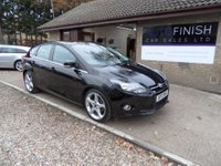 USED 2013 13 FORD FOCUS 1.6 TITANIUM TDCI 115 5d 114 BHP FULL SERVICE HISTORY, SAT-NAV, SONY DAB RADIO WITH USB AND AUX, BLUETOOTH PHONE CONNECTION, 2 KEYS, £20 ROAD TAX