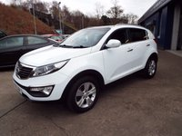 USED 2012 12 KIA SPORTAGE 1.6 2 5d 133 BHP FREE 12 MONTH AA ROADSIDE RECOVERY INCLUDED