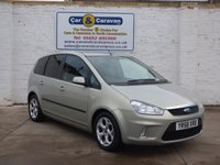 USED 2008 58 FORD C-MAX 1.8 ZETEC 5d 116 BHP All Ford Service History A/C 0% Deposit Finance Available