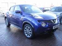 USED 2015 15 NISSAN JUKE 1.2 TEKNA DIG-T 5d 115 BHP ANY PART EXCHANGE WELCOME, COUNTRY WIDE DELIVERY ARRANGED, HUGE SPEC