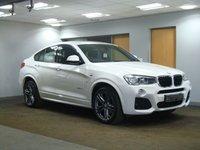 USED 2015 65 BMW X4 2.0 XDRIVE20D M SPORT 4d AUTO 188 BHP