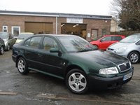 USED 2002 02 SKODA OCTAVIA 1.8 ELEGANCE 4X4 5d 148 BHP GOOD SERVICE HISTORY WITH 11 STAMPS IN BOOK, INCLUDING CAMBELT AT 74K+MOT OCT 2018,