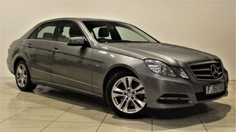 2010 MERCEDES-BENZ E CLASS 2.1 E250 CDI BLUEEFFICIENCY AVANTGARDE 4d AUTO 204 BHP £10485.00