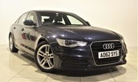 USED 2012 62 AUDI A6 2.0 TDI S LINE 4d 175 BHP + 1 OWNER +  SAT NAV + AIR CON + AUX + BLUETOOTH