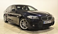 USED 2010 60 BMW 5 SERIES 2.0 520D M SPORT 4d AUTO 181 BHP + 2 PREV OWNER + SAT NAV + AIR CON + LEATHER SEATS + SERVICE HISTORY