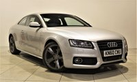 USED 2010 60 AUDI A5 2.7 TDI S LINE SPECIAL EDITION 2d AUTO 187 BHP + 1 PREV OWNER  + AIR CON + AUX + BLUETOOTH + SERVICE HISTORY